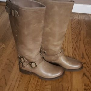 NIB Arturo Chiang leather riding boots 7